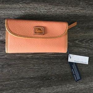 NWT Dooney & Bourke Light Orange Wallet